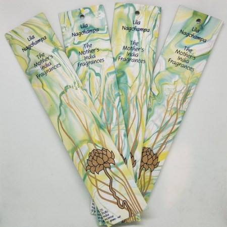 Mother's of India Lila Nagchampa Incense