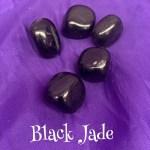 Black Jade Tumbled