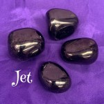 tumbled jet crystal