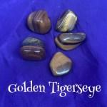 tumbled golden tigerseye