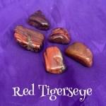 tumbled red tigerseye