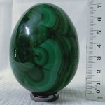 Malachite Crystal Egg 7cm