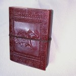 Leather Bound Journal Elephant