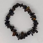 crystal chip bracelet Blue Tigerseye