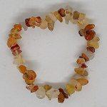 crystal chip bracelet Carnelian