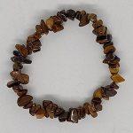 crystal chip bracelet Golden Tigerseye
