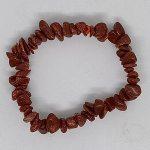 crystal chip bracelet Red Goldstone