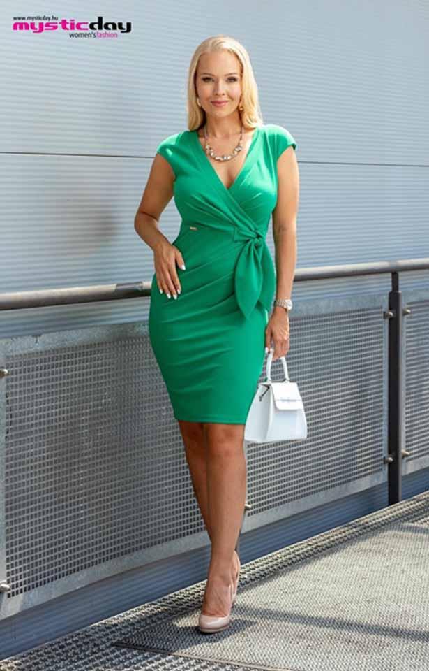 0365 Mystic Day Betty zöld ruha