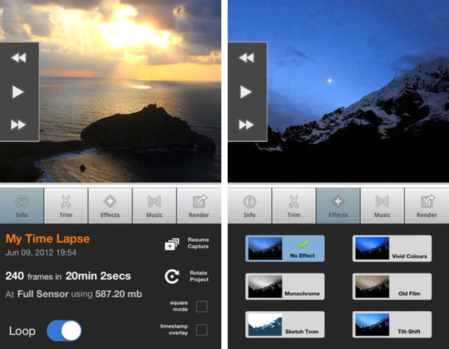 Top 5 Coolest Video App to Make Pretty Video from Your Travel Videos and Photos LAPSE IT
