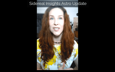 Sidereal Insights Astro Update • 2 25 2019
