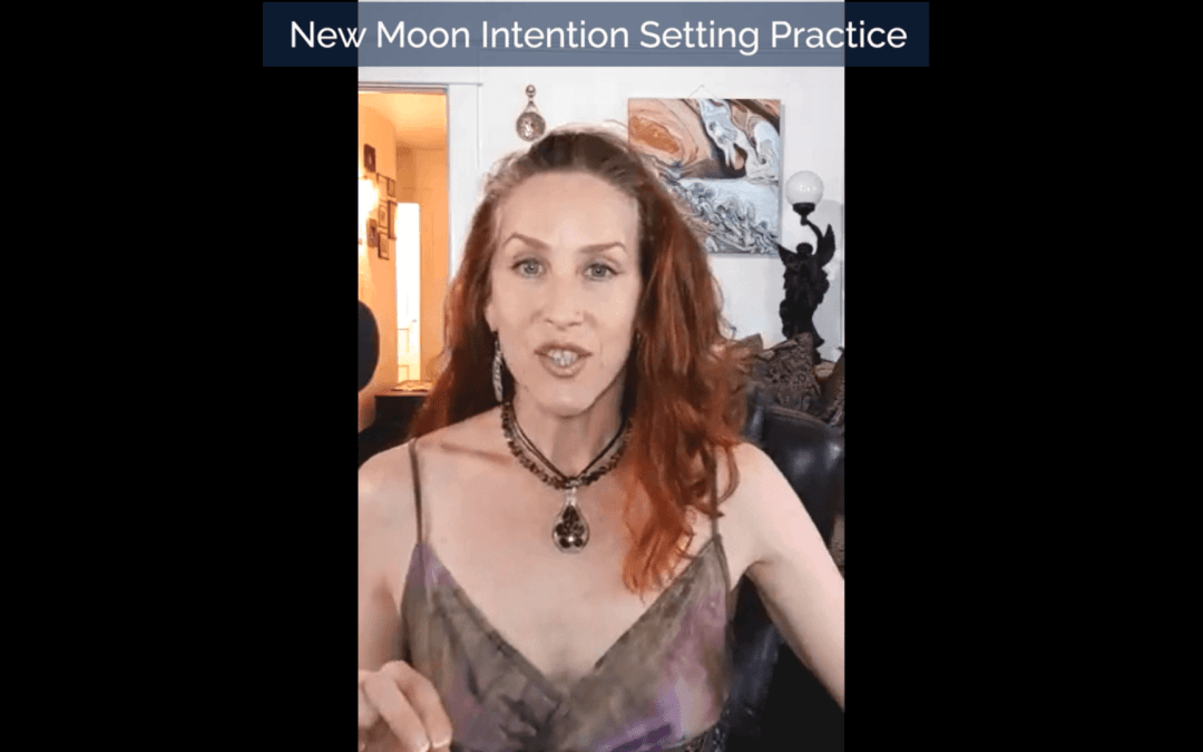New Moon Solar Eclipse in Gemini Guided Intention Setting
