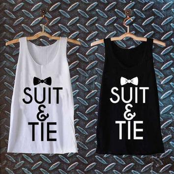 suit & tie tanktop