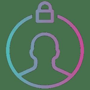 violetturquoisepurplecircleclip artsymbol 4251787 free png privacy png 300 300