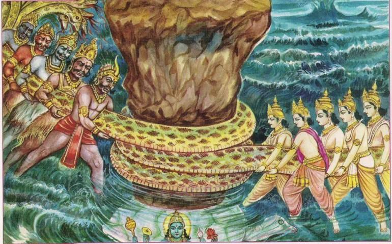 kalpavriksha Meditation/ SamudhraManthan Images