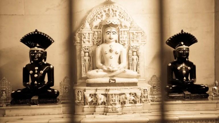 Preksha Meditation/ Bhagwan Mahaveer Image