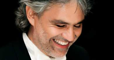 Feast Day February 11th – At Lourdes, Blind Tenor,  Friend of Medjugorje Andrea Bocelli, Asked for Serenity not his Sight