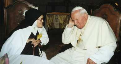 "Pope John Paul II's Nocturnal Visions and Communication with Our Lady ""Islamic Invasion and The war will not be between religions, but between atheists and believers, between those who are without God and believers"""