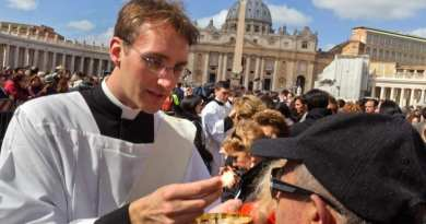 The Catholic Church says no to gluten-free communion. Canon law states that bread used for Holy Communion must be made from wheat and water in order for transubstantiation to occur.