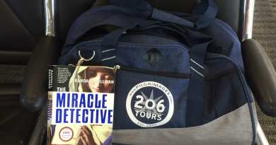 "Now My Turn to be a ""Miracle Detective""  …Next Stop Medjugorje … Taking two great books with me."