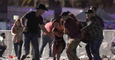FIFTY dead and 200 injured as gunman with terrifying arsenal of weapons opens fire on packed Vegas music festival