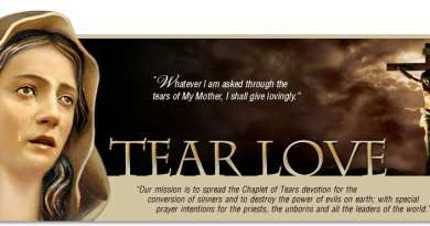 """Tears of Love"" …Sister Amalia Aguirre often recites this Chaplet: ""The devil will be defeated and his infernal empire will be destroyed"""