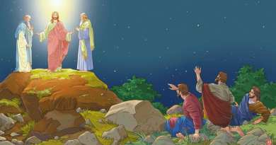 Sunday 25th February 2018… Today's Holy Gospel of Jesus Christ according to Saint Mark 9:2-10