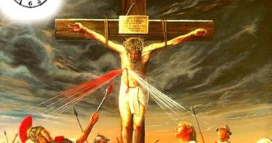 "The Cross is a Choice for Heaven or Hell …""Choose to embrace God for all eternity or to reject him"