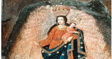 "Mystic Post Wants This Miracle Known to the World…The Great Rock Miracle of Our Lady of Las Lajas.  ""Painted by angels"" Truly a Wonder of the World"