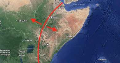 "A massive crack suddenly appears in Kenya..""Evidence Africa Is Literally Splitting In Two"""