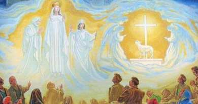 That silent apparition of the Virgin Mary and the rivers of healing and graces that ensued!