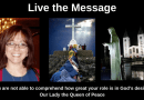 """Live the Message by Debbie Womack: """"You are not able to comprehend how great your role is in God's design."""""""