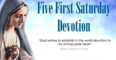 "THE PROMISE…""I promise to assist at the hour of death"" The First Saturday Devotion ."