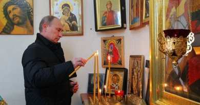Putin and the Mysterious rise of Christianity in Russia…Unknown Consequences for the world.