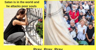 September 2, 2018 Again A Demon Arrives at Medjugorje At Time of Apparition… Attacks Poor Howling Woman