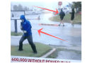 Fake Wind at Weather Channel ..Viewers Crack Up As Pedestrians Stroll By Overly Dramatic Reporter