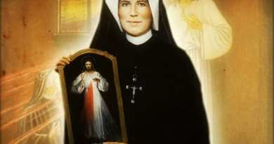 In the hour of Mercy we recite these prayers of Saint Faustina
