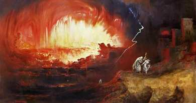 """Saint Faustina: '""""I, who have seen hell …Today, led by an angel, I have been in the infernal abysses.It is a place of great torture and the space it occupies is vast."""""""