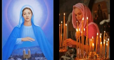 "Medjugorje is a prayer for the world – the hope of the world….""There is a light with Medjugorje and We need this light in a world that is going down into darkness."""