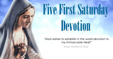 """Our Lady of Fatima…The First Saturdays..""""The Rosary and the Scapular are inseparable"""" Find a Church today, inside is a great promise"""