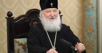 "The leader of the Russian Orthodox Church on the coming of the Antichrist: ""The Antichrist is a personality that will be at the head of the world wide web controlling the entire human race."