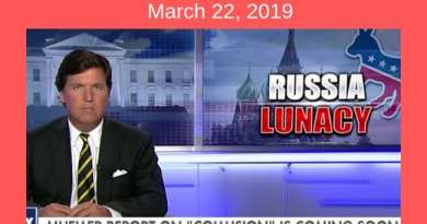 "Tucker Carlson: ""Russia Lunacy"" If Trump didn't collude with Russia, will anyone be punished?"