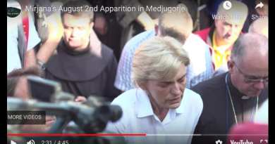 Medjugorje: Mirjana Suffers for the Pilgrims and Our Lady… Is it too much now? Video