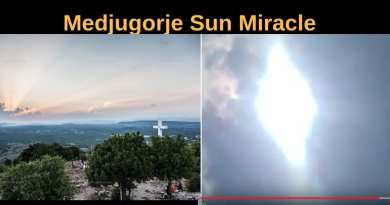 "Sun Miracle – Our Lady Appears In Sky in Medjugorje…""My children, you are not united by chance."" The Queen of Peace 2019"
