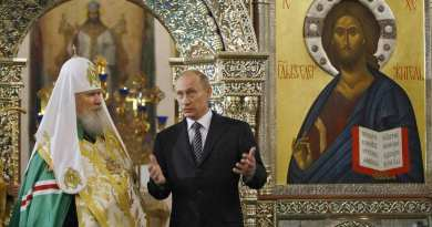 """On the global stage Russia is aggressively pursuing its message that it is the savior of the Christian world.""…The Most Important Thing to Understand about Putin's Russia"
