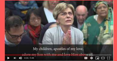 Medjugorje: Mother brings blind toddler to Mirjana's apparition – Oct 2, 2019