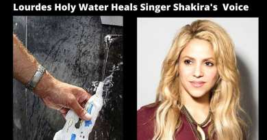 "Shakira: In 2017 she couldn't talk anymore. Finds voice with the water of Lourdes.  ""It was as if I had lived a mystical experience"""