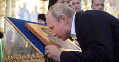 "Putin and the Apocalypse: ""Preparing the world for the last Judgement""…Says Russians would go to Heaven as martyrs"