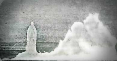 Our Lady of the Fjords: This Luminous Image of  the Virgin Mary is believed to be the Oldest Known Photo of an Apparition