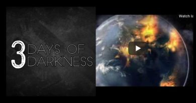 "THE THREE DAYS OF DARKNESS: WHAT WILL HAPPEN…""The wind will howl and roar"""