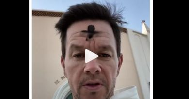 Actor Mark Wahlberg Ecourages Catholics to attend daily Mass on Ash Wednesday Intagram Post – see video